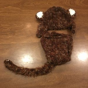 🆕📝 Crochet Newborn Monkey Outfit